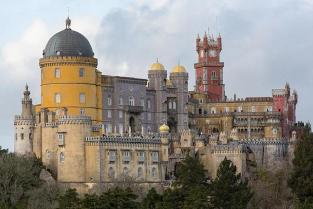 The Pena National Palace.