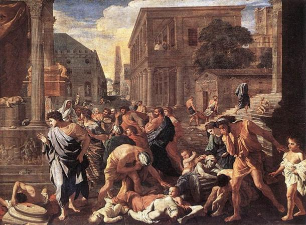 'The Plague at Ashdod' by Nicolas Poussin