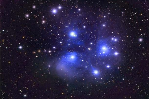 The Dogon's Extraordinary Knowledge of the Cosmos and the Cult of Nommo The-Pleiades_1