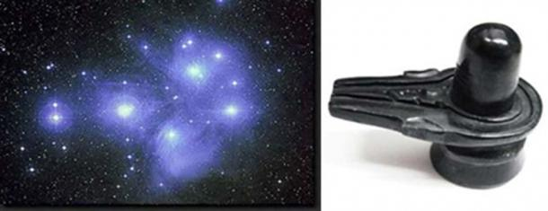 The Pleiades is in the shape of a lingam.