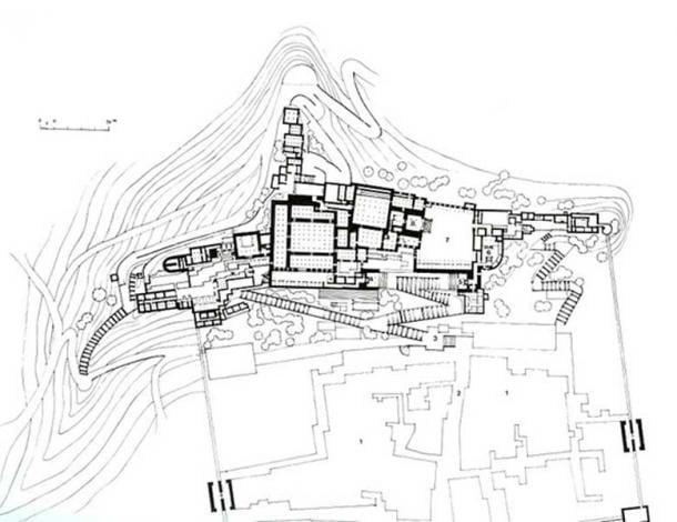 The Potala Palace Plan, 17th century