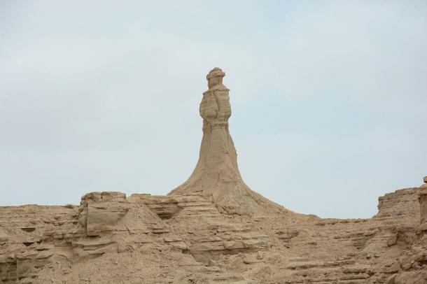 The Princess of Hope formation in the Hingol National Park. (Image: CC BY-SA 4.0)