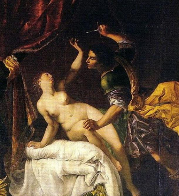 The Rape of Lucretia. (Blancogato78 / Public Domain)