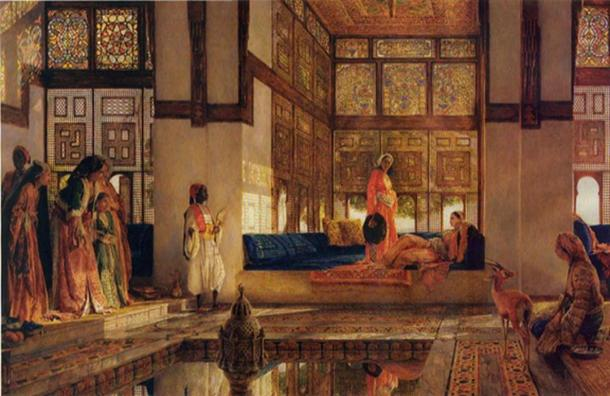 'The Reception' (1873) by John Frederick Lewis.