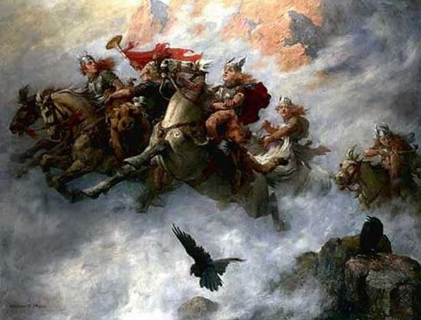 The Ride of the Valkyries (1890), William T. Maud.