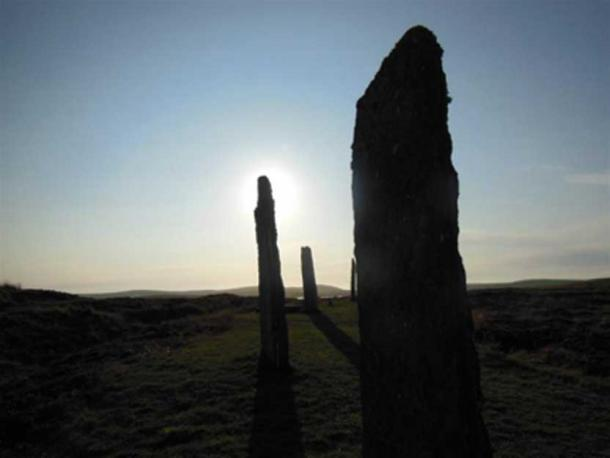 The Ring of Brodgar stone circle on the Orkney Mainland (Image: © Andrew Collins).