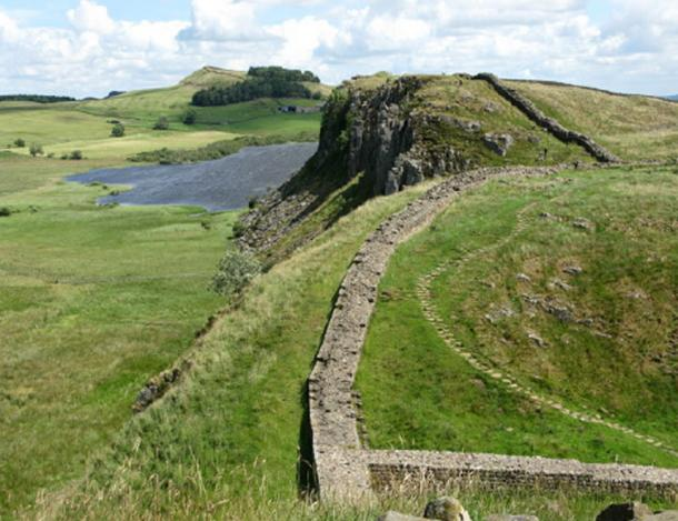 The Roman empire stretched from Hadrian's Wall in drizzle-soaked northern England to the sun-baked banks of the Euphrates in Syri. A segment of the ruins of Hadrian's Wall in northern England. (G Laird / CC BY-SA 2.0)