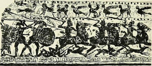 The Romans used dogs in warfare and when the dogs failed to warn of an attack by the Gauls they were put on animal trial. (Fæ / Public Domain)