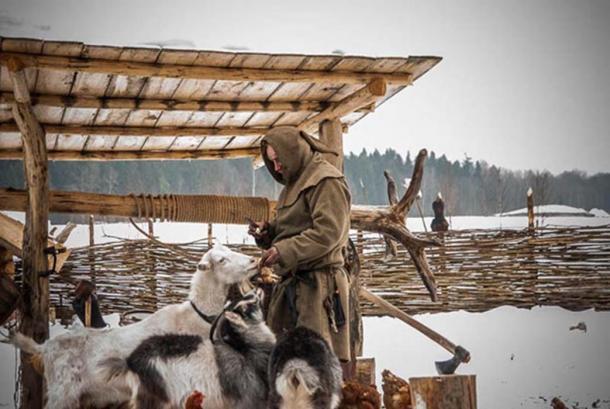The 'Russian hermit' Pavel Sapozhnikov. Source: Homestead Basics