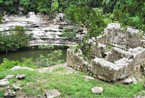 The Sacred Well or Well of Sacrifice. (© georgefery.com)