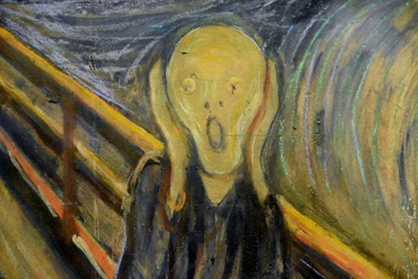 The Scream by Edvard Munch, 1893 (CC BY 2.0)