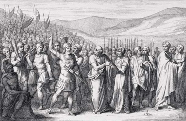 The Secession of the Plebeians to the Sacred Mountain. (B. Barloccini / Public Domain)
