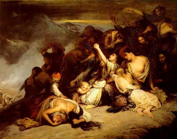 The Souliot Women (1827), Ary Scheffer