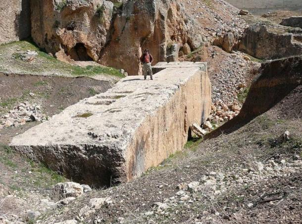 The Stone of the Pregnant Woman at Baalbek