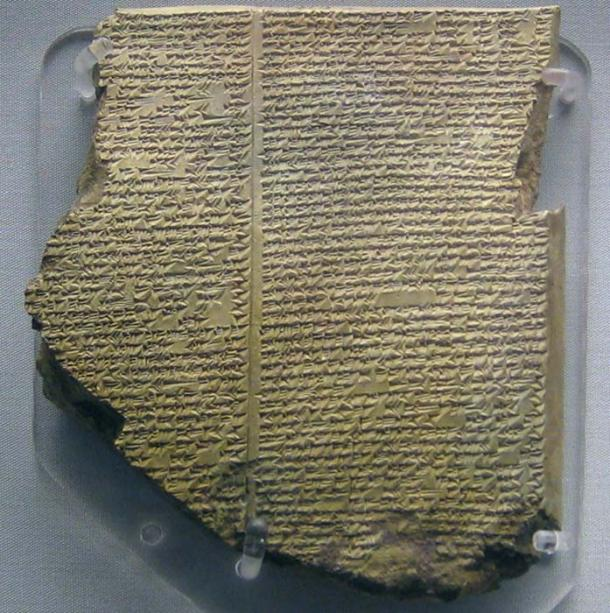 The Sumerian tablet of the Epic of Gilgamesh. (BabelStone / Public Domain)