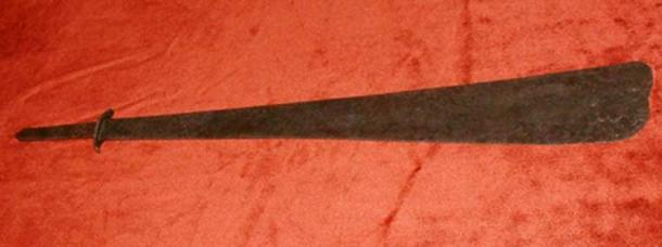 The Sword of Saint Peter in the Archdiocesan Museum of Poznan, Poland.