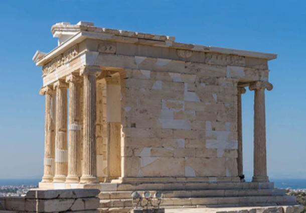 The Temple of Athena Nike, Athens Acropolis. (Jebulon / Public Domain)