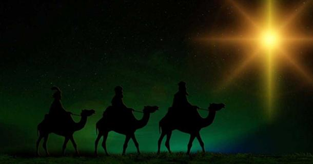 The Three Kings following the Start of Bethlehem