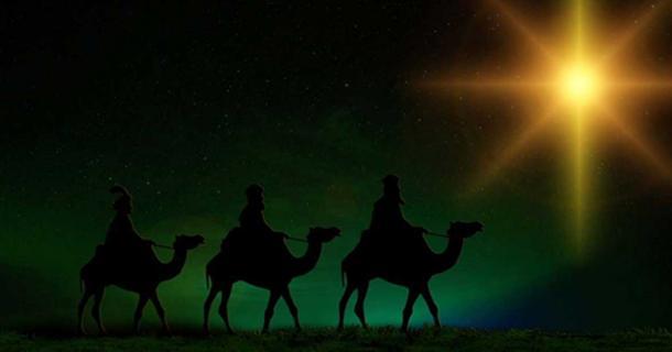 The Three Kings following the Start of Bethlehem