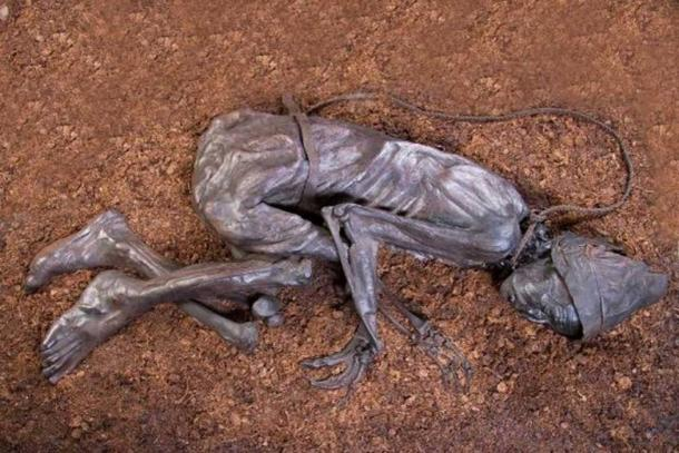 The Tollund Man as he appears today. (Tollundman.dk)