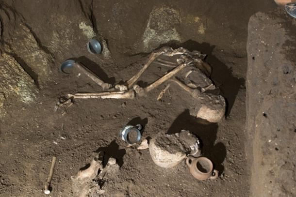 The Tomb of the Athlete emphasizes how Romans took burials very seriously. (La Repubblica)