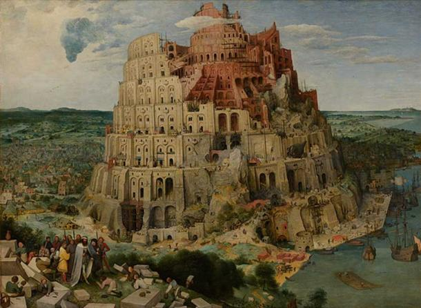 'The Tower of Babel' (1563) by Pieter Brueghel the Elder. (Public Domain)
