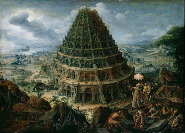 Marten van Valckenborch the Elder - The Tower of Babel.