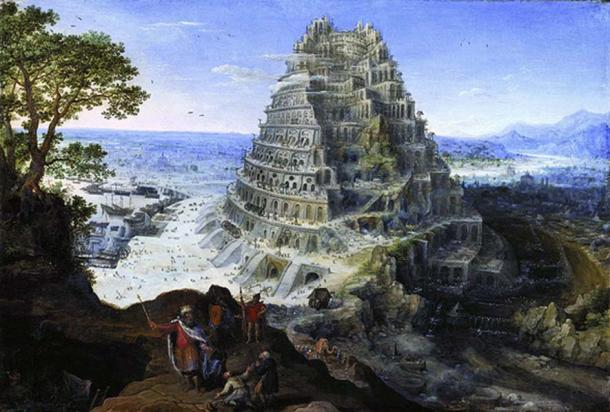 The Tower of Babel by Valckenborch 1595