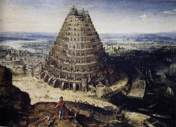 'The Tower of Babel' (1594) by Lucas van Valckenborch. (Public Domain)