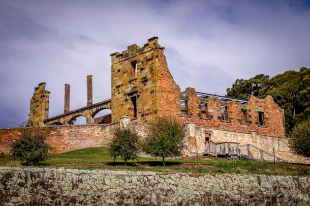 The UNESCO world heritage penitentiary Port Arthur is located in Port Arthur Historic Site on the Tasman Peninsula, Tasmania, Australia. (Julian Peters Photos / Adobe)