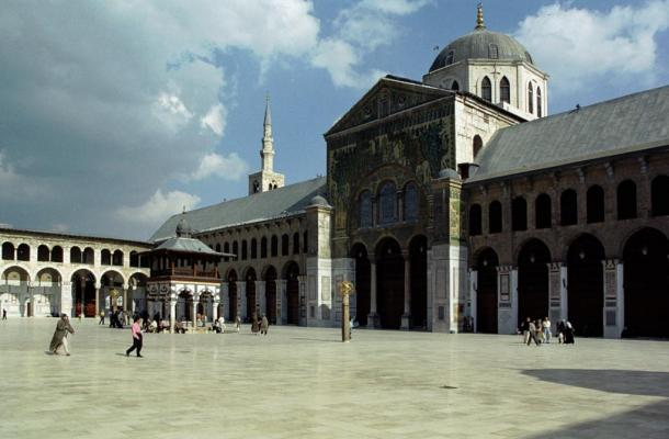 The Umayyad Mosque - The Dome of the Eagle (Qubbat Al-Nisr), Damascus