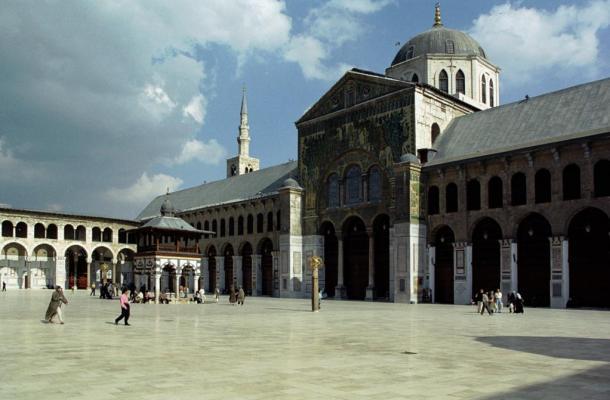 The Umayyad Mosque - The Dome of the Eagle (Qubbat Al-Nisr), Damascus