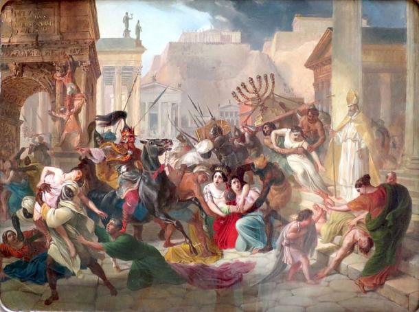 The Vandals sacking Rome (Public Domain)