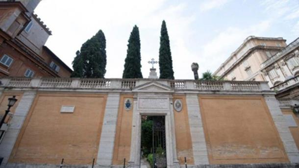 The Vatican has allowed a search of its Teutonic Cemetery at the request of the Orlandi family (Vatican Media)