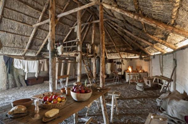 The Viking longhouse. (zummolo / Adobe Stock)
