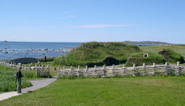 The Viking settlement at L'Anse aux Meadows. (FlickrLickr / CC BY-SA 2.0)