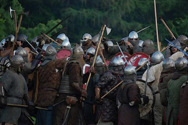 The Vikings seemed to come endlessly in vast numbers.