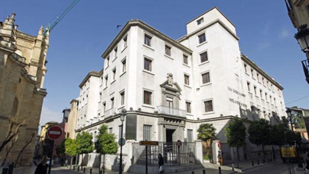 The Villamena building in Granada. (Granada Hoy)