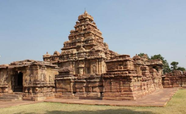 The Virupaksha Temple in Pattadakal