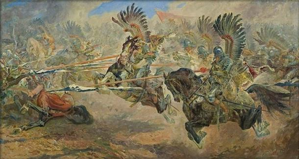 The Winged Hussars. (Kawaart / Public Domain)