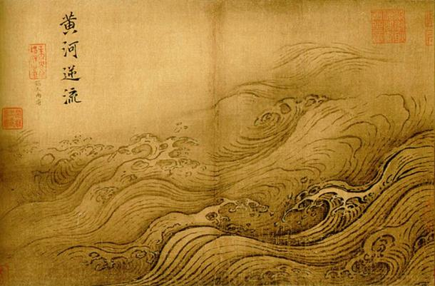 'The Yellow River Breaches its Course' by Ma Yuan.