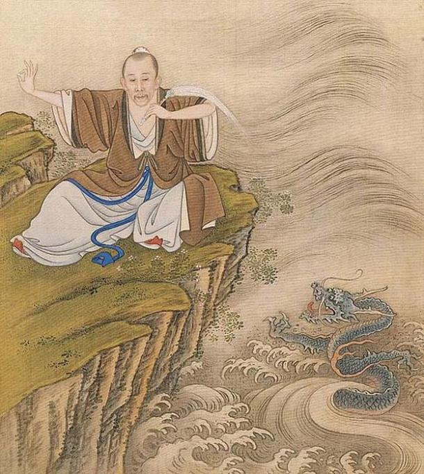 """The Yongzheng Emperor (r. 1722–1735), here portrayed as a Daoist adept, reprimanded Manchu converts to Christianity for worshipping the foreign """"Lord of Heaven."""" (Public Domain)"""