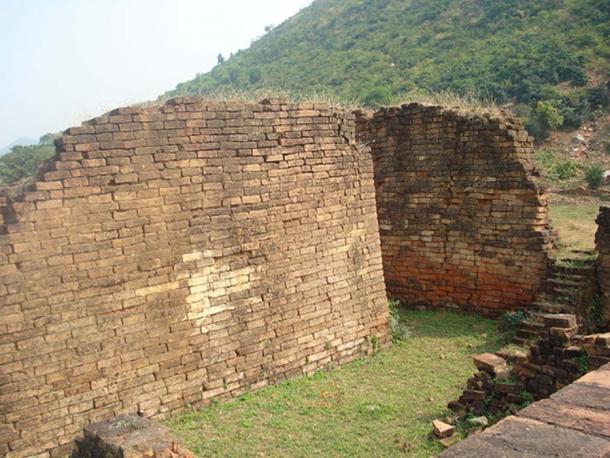 The ancient Jarasandha's Akhara (wrestling arena) mentioned in the Mahabharata epic is located at Rajgir in Bihar, India. (LRBurdak/CC BY SA 3.0)