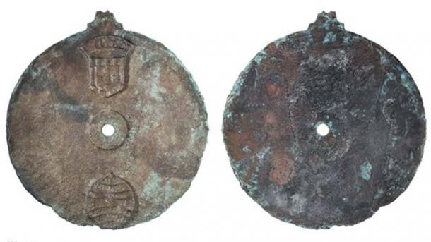 The astrolabe is a bronze disc, which measures 17.5cm in diameter (Image: Philip Koch)