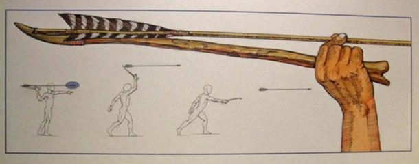 The atlatl, or throwing board, was one of the great advances in hunting technology. (Travis/CC BY NC 2.0)