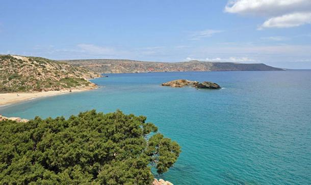 The bay of Vai (Crete, Greece). (Marc Ryckaert/CC BY 3.0)