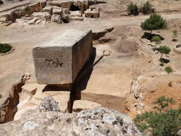 The biggest known ancient stone block anywhere in the world! (Author provided)