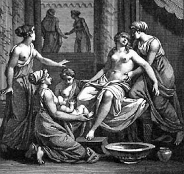 The birth of Heracles. (Dodo / Public Domain)