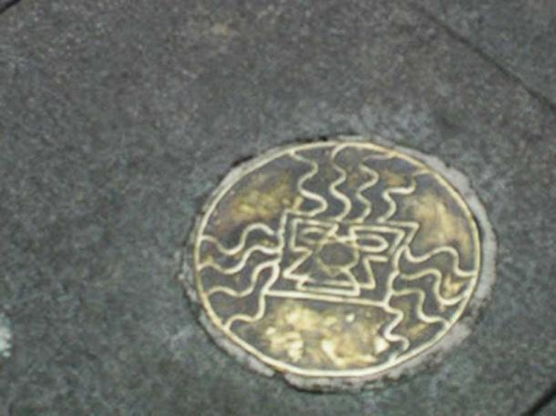 The bronze plaque that was stolen. (Kitu Underground)