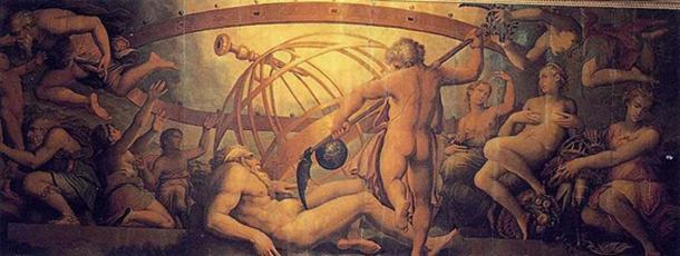 The castration of Ouranos by Chronos